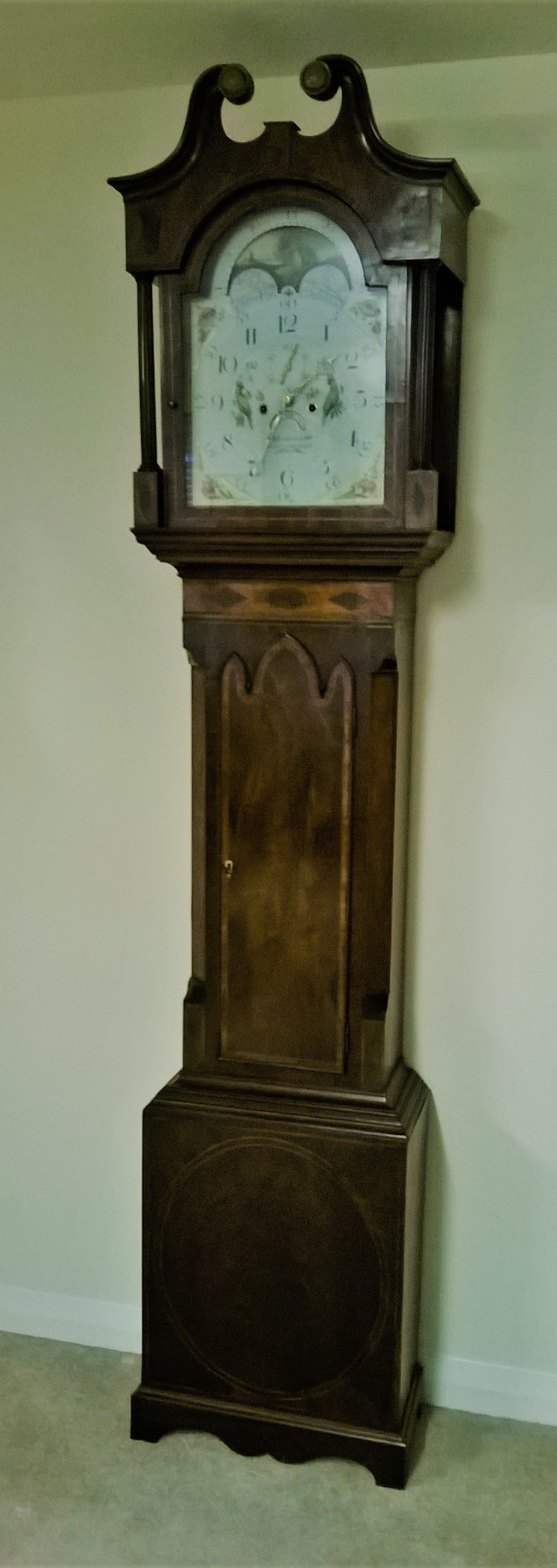 Dating longcase clock dials with roman 4